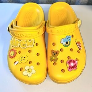 Justin Bieber Limited Edition Drew Crocs